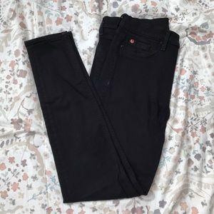 Black Hudson Barbara high rise jeans
